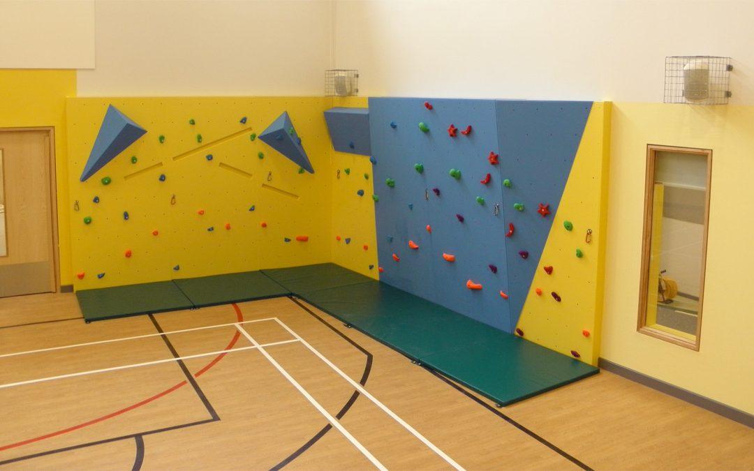Climbing Wall, Hollingwood Primary School