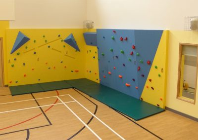 Climbing Wall, Hollingwood Primary School