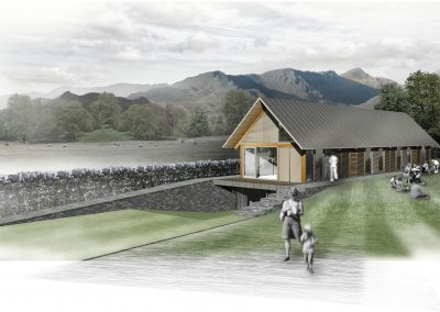 Coniston Cricket Pavilion